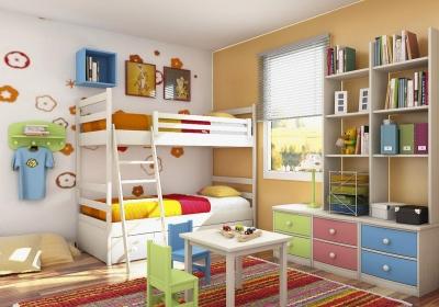Kinderkamer voor twee